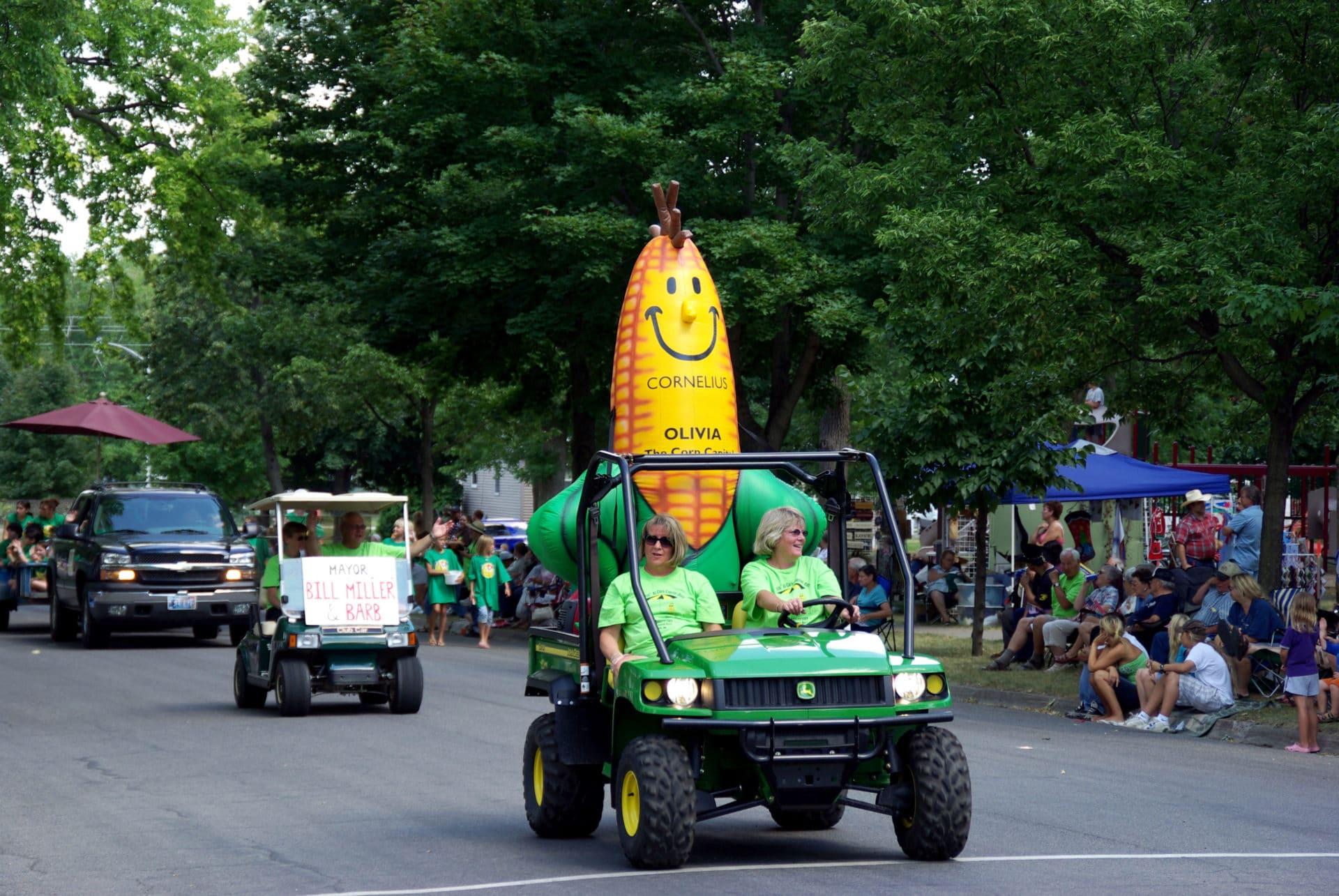 Cornellus the Sweet Corn Mascot